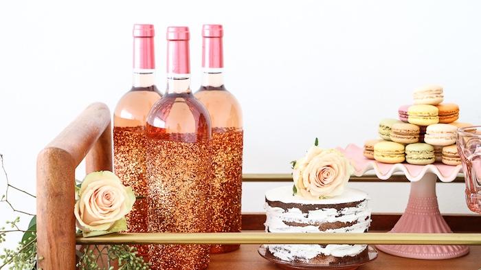 "Dessert spread from a ""Rosé All Day"" Bridal Shower on Kara's Party Ideas | KarasPartyIdeas.com (16)"