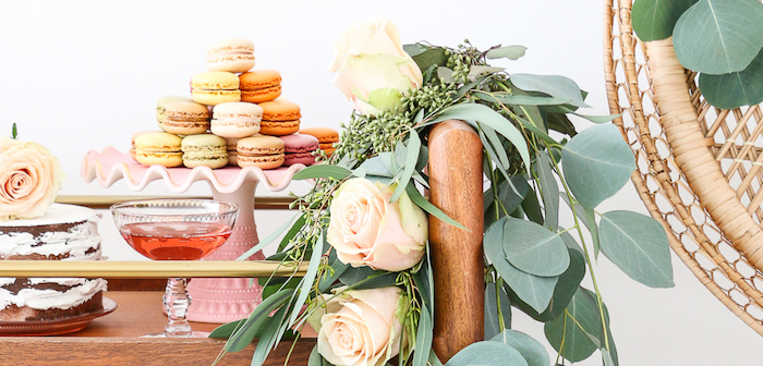 """Rosé All Day"" Bridal Shower on Kara's Party Ideas 