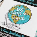 365 Days on Earth First Birthday Party on Kara's Party Ideas | KarasPartyIdeas.com (1)