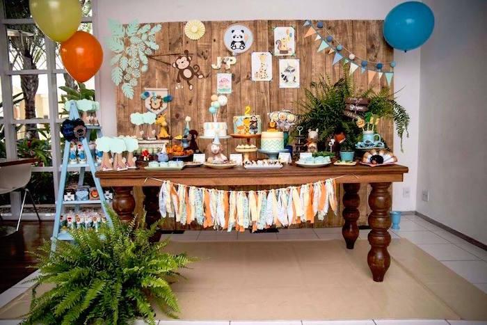 ... Party Ideas Adventurous Animal Birthday Party  Karas Party Ideas