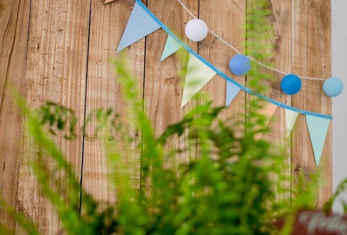 Pennant banner and bunting from an Adventurous Animal Birthday Party on Kara's Party Ideas | KarasPartyIdeas.com (20)