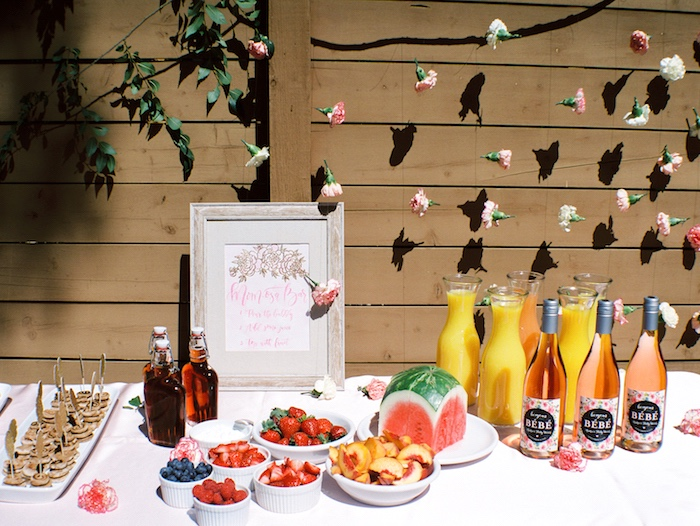 -osa' Bar from a Bohemian Dreams Baby Shower on Kara's Party Ideas | KarasPartyIdeas.com (14)