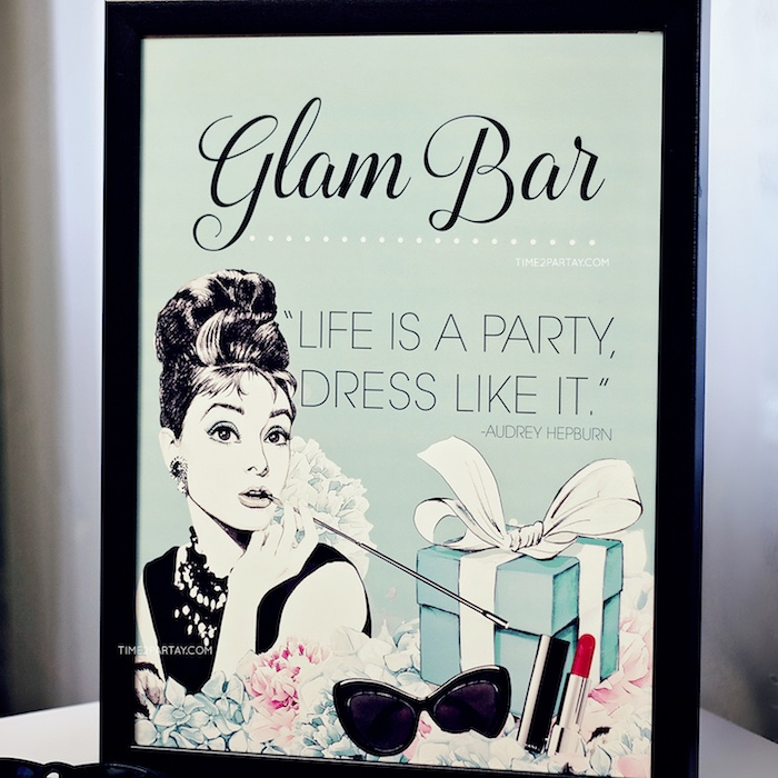 Breakfast at Tiffany's party print from a Breakfast at Tiffany's Inspired Bridal Shower on Kara's Party Ideas | KarasPartyIdeas.com (12)
