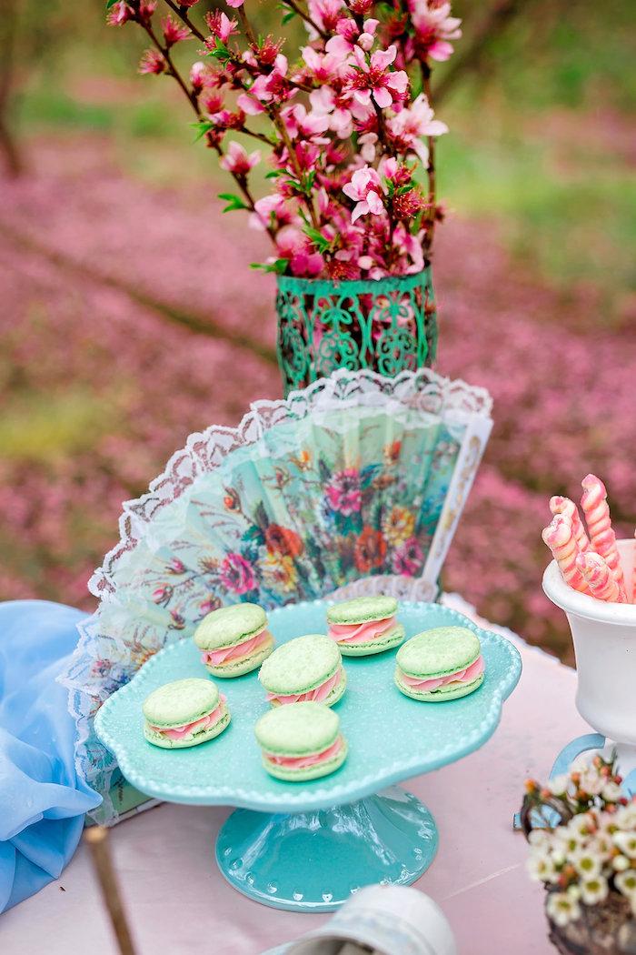 Bridal Shower Garden Tea Party on Kara's Party Ideas | KarasPartyIdeas.com (25)