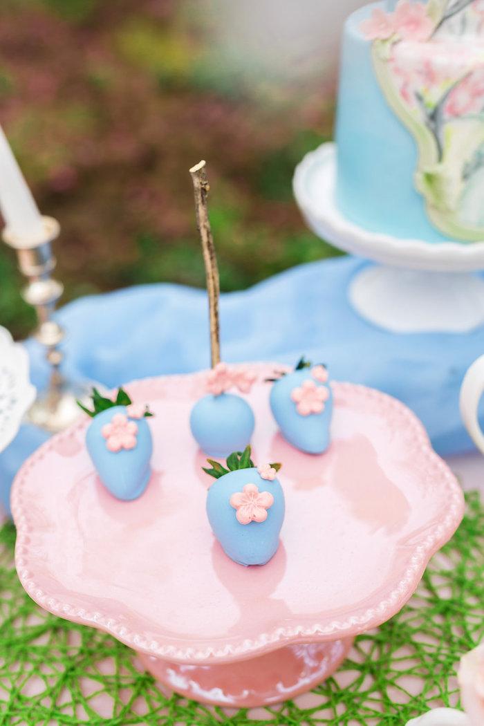 Bridal Shower Garden Tea Party on Kara's Party Ideas   KarasPartyIdeas.com (24)