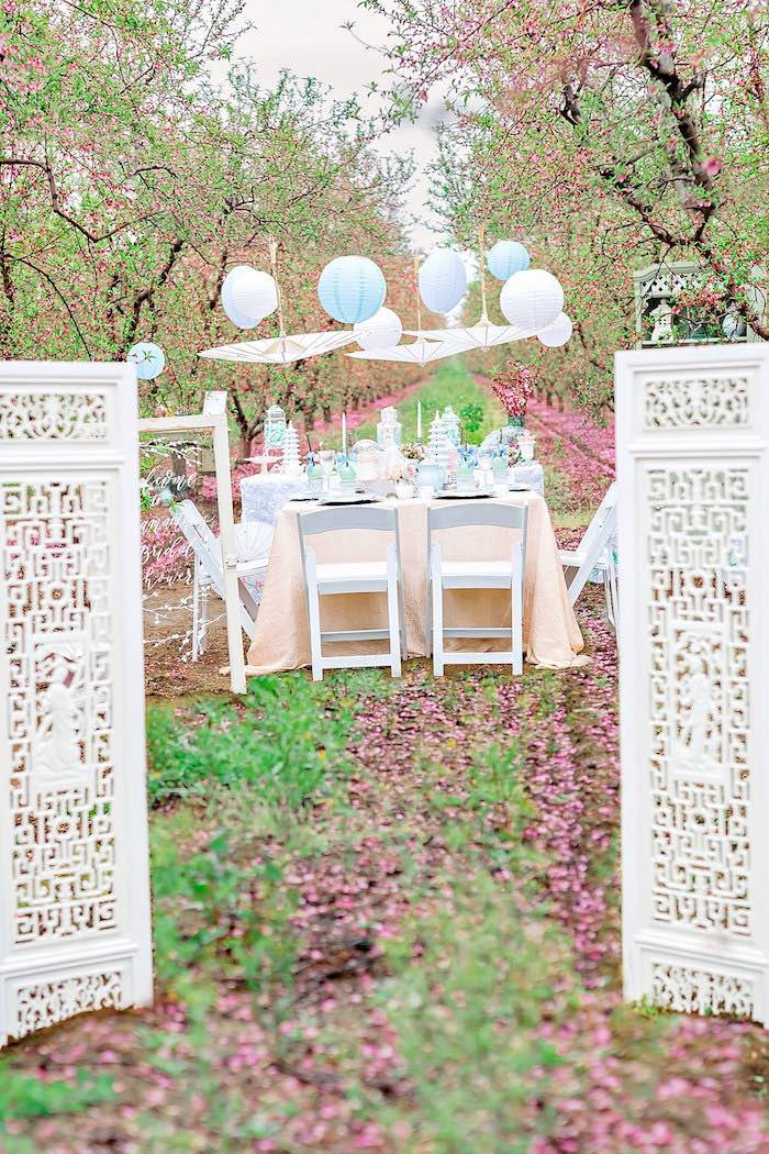 Bridal Shower Garden Tea Party on Kara's Party Ideas | KarasPartyIdeas.com (22)