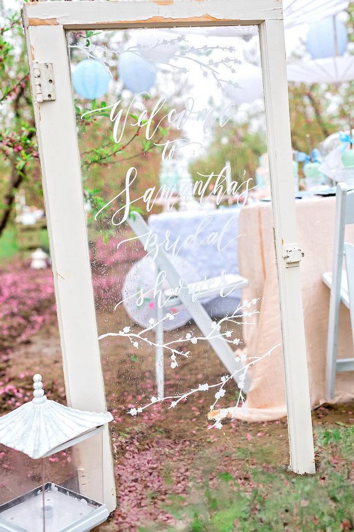 Bridal Shower Garden Tea Party on Kara's Party Ideas   KarasPartyIdeas.com (21)