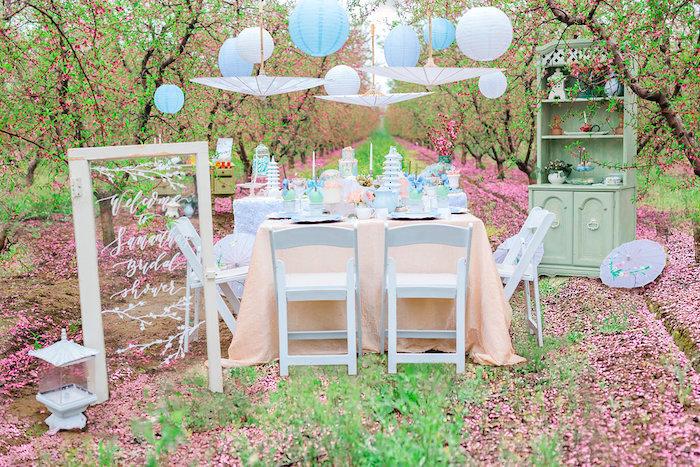 Bridal Shower Garden Tea Party on Kara's Party Ideas   KarasPartyIdeas.com (20)