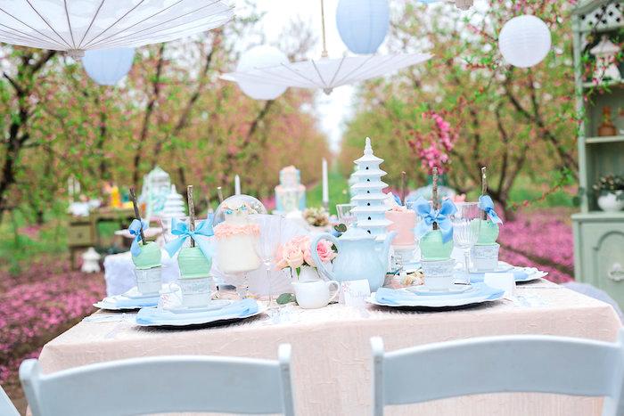 Bridal Shower Garden Tea Party on Kara's Party Ideas   KarasPartyIdeas.com (19)