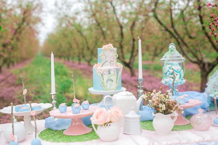 Bridal Shower Garden Tea Party on Kara's Party Ideas   KarasPartyIdeas.com (17)