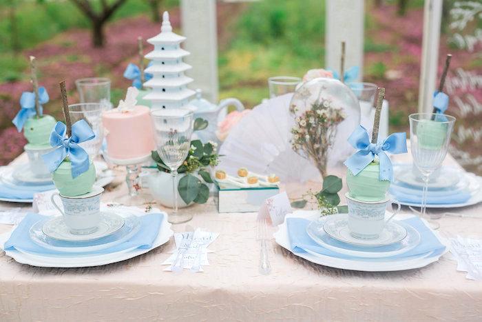 Bridal Shower Garden Tea Party on Kara's Party Ideas | KarasPartyIdeas.com (15)