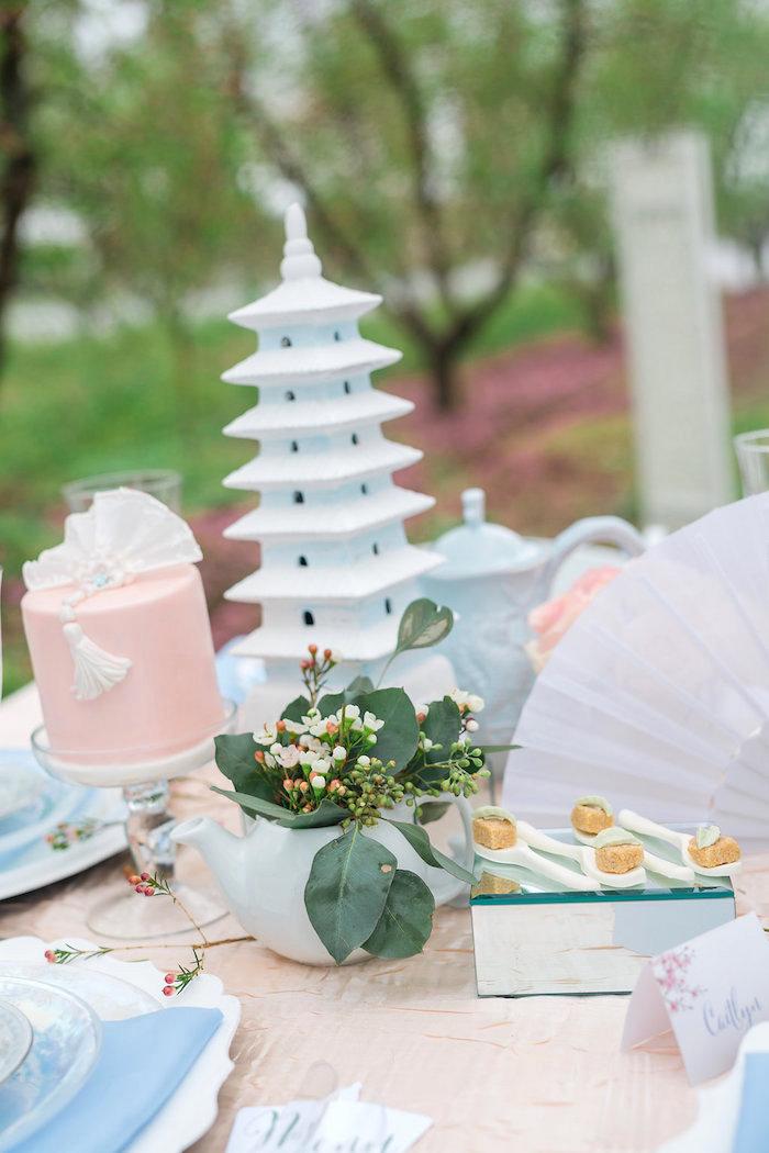 Bridal Shower Garden Tea Party on Kara's Party Ideas   KarasPartyIdeas.com (14)