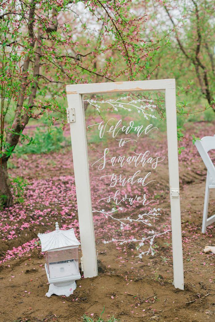 Bridal Shower Garden Tea Party on Kara's Party Ideas   KarasPartyIdeas.com (13)