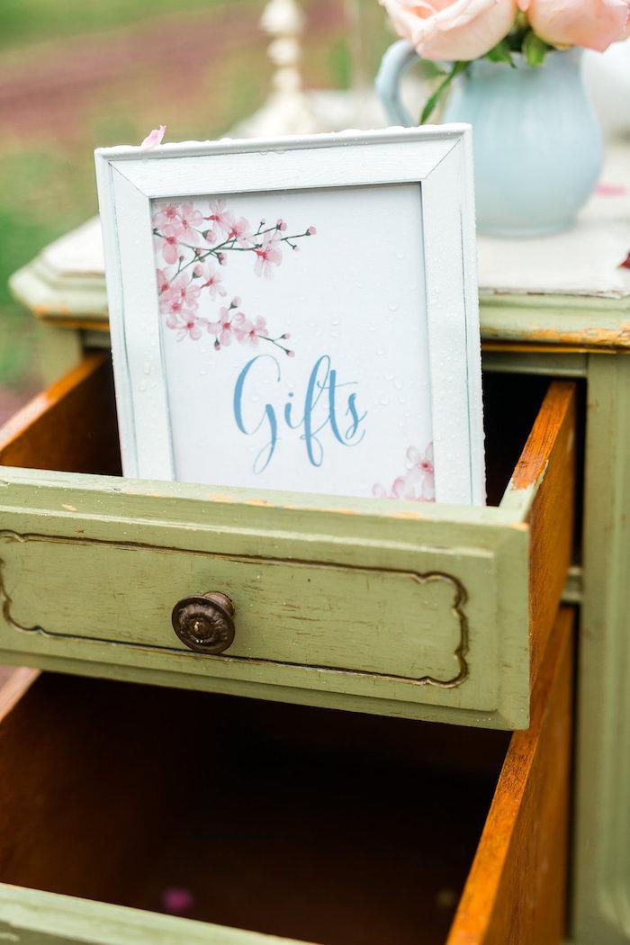 Bridal Shower Garden Tea Party on Kara's Party Ideas   KarasPartyIdeas.com (37)
