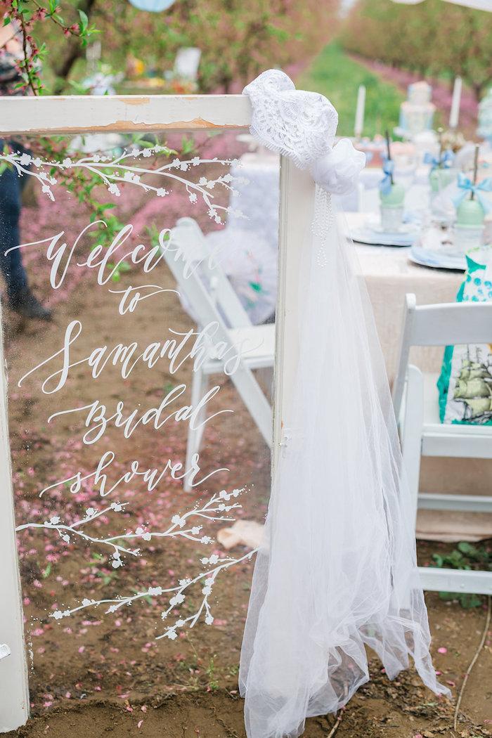Bridal Shower Garden Tea Party on Kara's Party Ideas | KarasPartyIdeas.com (9)