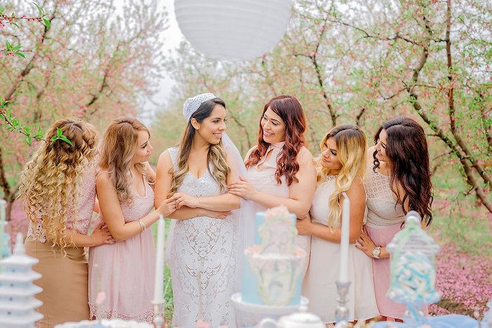 Bridal Shower Garden Tea Party on Kara's Party Ideas | KarasPartyIdeas.com (7)