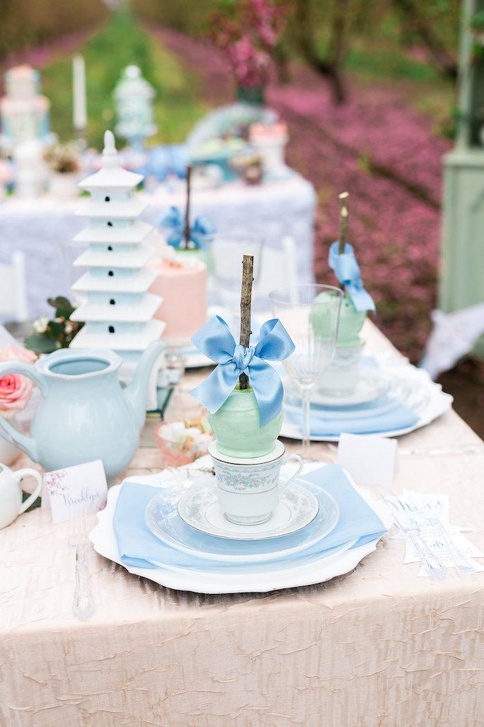 Bridal Shower Garden Tea Party on Kara's Party Ideas | KarasPartyIdeas.com (32)