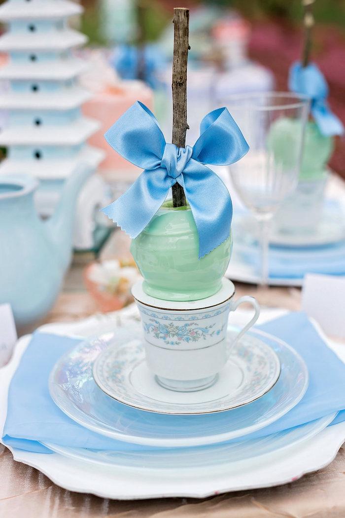 Bridal Shower Garden Tea Party on Kara's Party Ideas | KarasPartyIdeas.com (31)