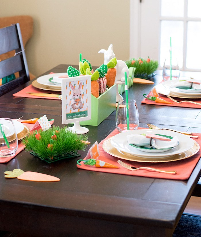 Carrot Patch Easter Party with FREE Printables on Kara's Party Ideas | KarasPartyIdeas.com (11)