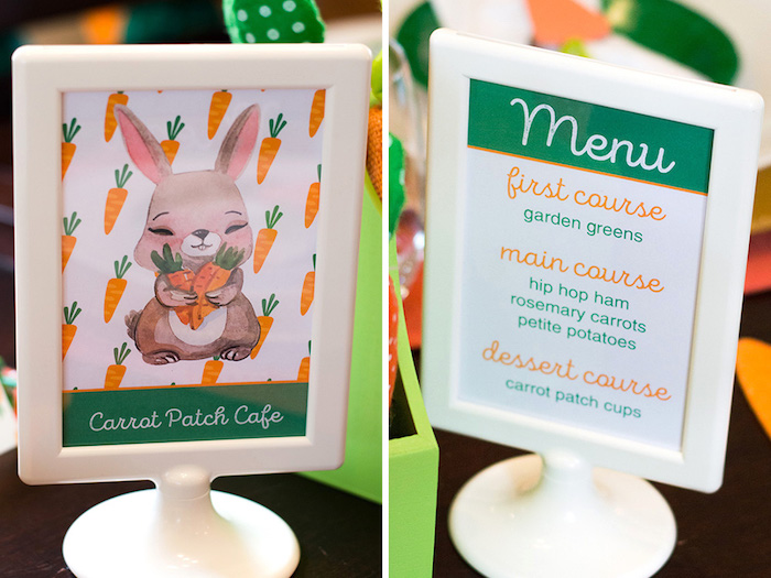 Easter prints from a Carrot Patch Easter Party with FREE Printables on Kara's Party Ideas | KarasPartyIdeas.com (26)