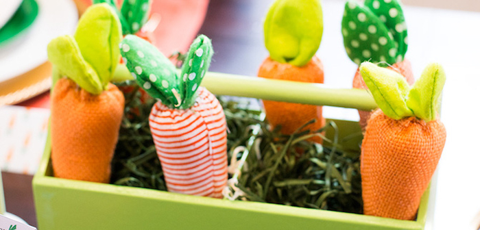 Carrot Patch Easter Party with FREE Printables on Kara's Party Ideas | KarasPartyIdeas.com (1)