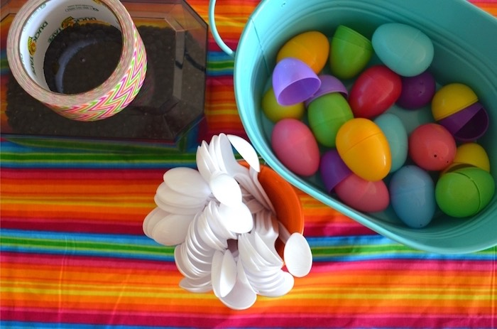 DIY maraca supplies from a Colorful Fiesta Birthday Party on Kara's Party Ideas | KarasPartyIdeas.com (9)