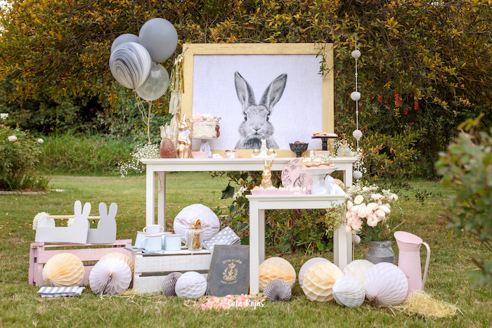 Countryside Bunny Party via Kara's Party Ideas | KarasPartyIdeas.com (14)