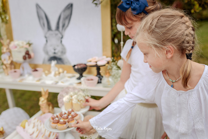 Desserts for the taking from a Countryside Bunny Party via Kara's Party Ideas | KarasPartyIdeas.com (10)