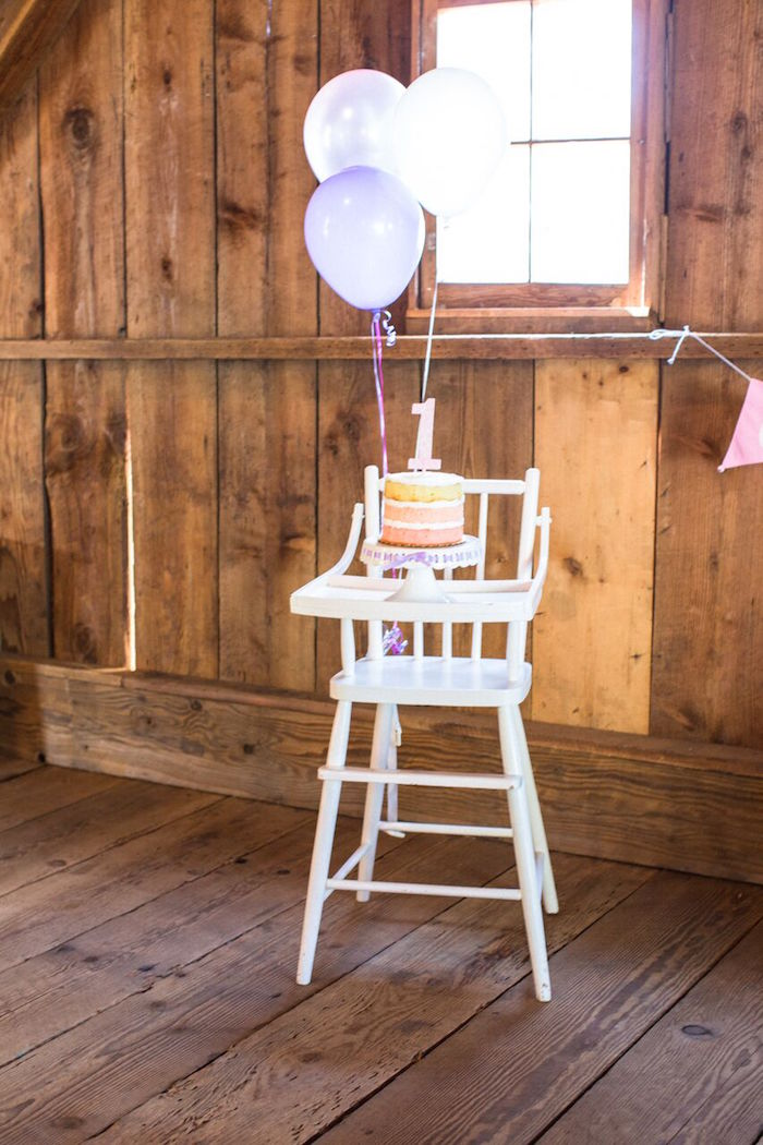 Highchair from a Cowgirl Birthday Party Roundup on Kara's Party Ideas | KarasPartyIdeas.com (20)