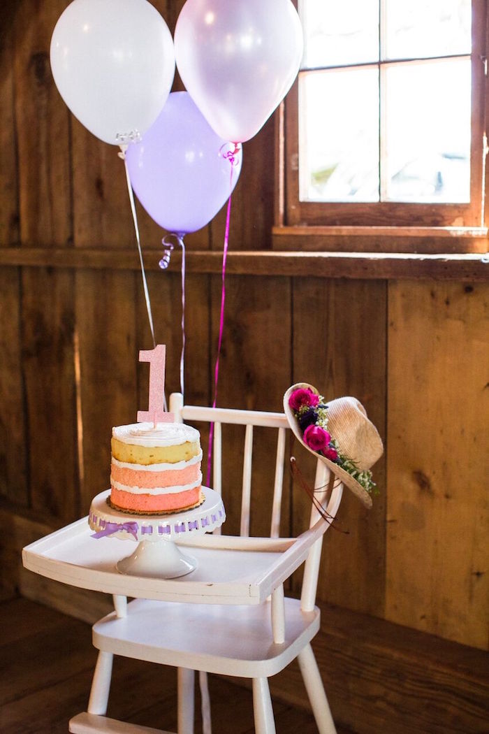 Highchair from a Cowgirl Birthday Party Roundup on Kara's Party Ideas | KarasPartyIdeas.com (12)