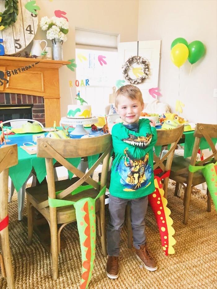 DIY Dinosaur Birthday Bash on Kara's Party Ideas | KarasPartyIdeas.com (22)