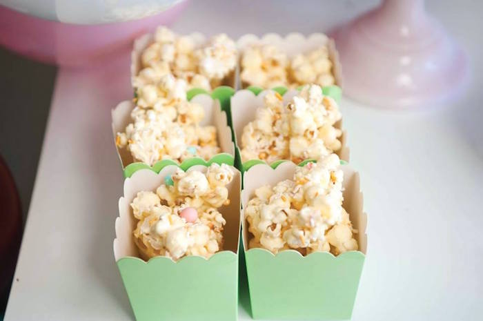 Popcorn boxes from a Donuts, Milk, & Cookies Birthday Party on Kara's Party Ideas | KarasPartyIdeas.com (3)
