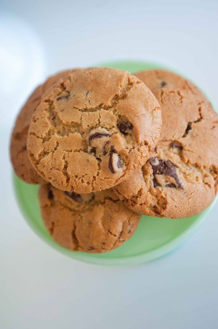Chocolate Chip Cookies from a Donuts, Milk, & Cookies Birthday Party on Kara's Party Ideas | KarasPartyIdeas.com (20)