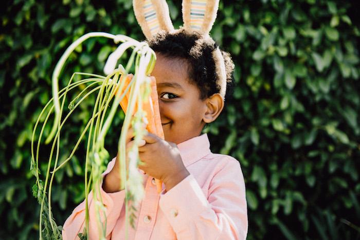 Carrots from an Easter Garden EGGstravaganza on Kara's Party Ideas | KarasPartyIdeas.com (19)