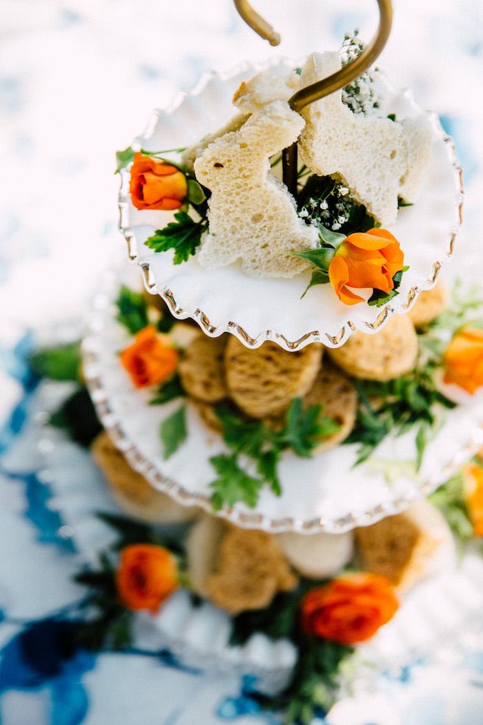 Bunny & egg sandwiches from an Easter Garden EGGstravaganza on Kara's Party Ideas | KarasPartyIdeas.com (17)