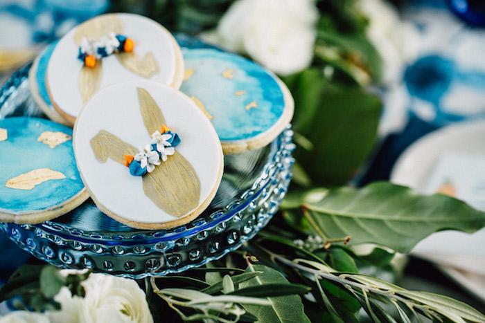 Easter cookies from an Easter Garden EGGstravaganza on Kara's Party Ideas | KarasPartyIdeas.com (9)