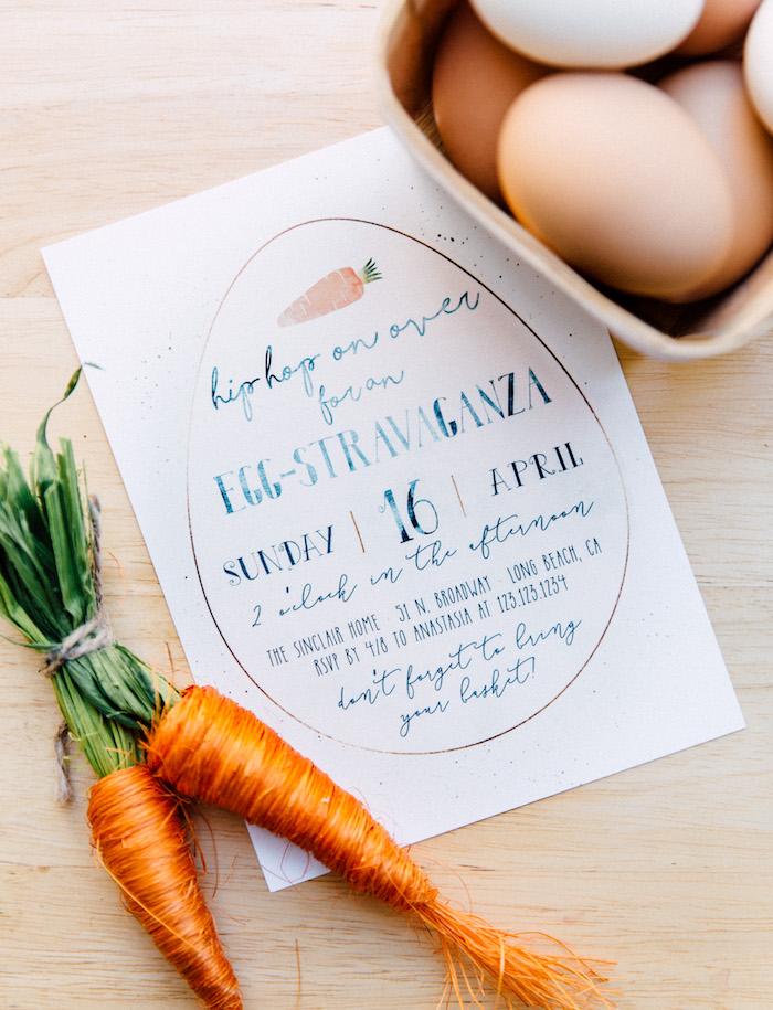 Invitation from an Easter Garden EGGstravaganza on Kara's Party Ideas | KarasPartyIdeas.com (6)