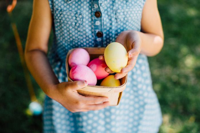 Dyed Easter Eggs from an Easter Garden EGGstravaganza on Kara's Party Ideas | KarasPartyIdeas.com (22)