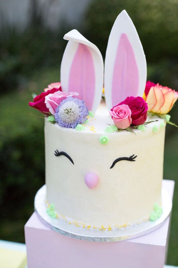 Bunny Cake Easter Recipe