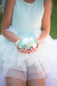 Egg from an Easter Garden Party on Kara's Party Ideas | KarasPartyIdeas.com (6)