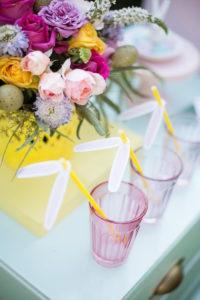 Bunny-eared straws from an Easter Garden Party on Kara's Party Ideas | KarasPartyIdeas.com (25)