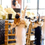 Elegant Black and Gold Unicorn Party on Kara's Party Ideas | KarasPartyIdeas.com (5)