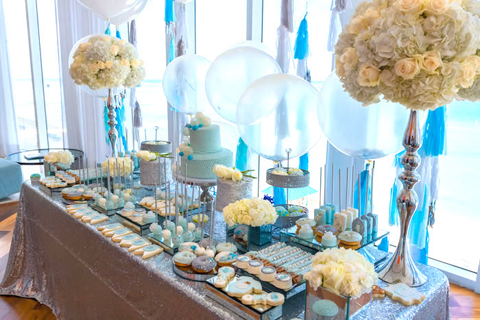 Elegant Brit Milah Baby Naming Ceremony on Kara's Party Ideas | KarasPartyIdeas.com (9)