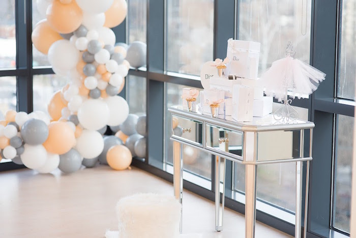 Elegant Dior Inspired Birthday Party on Kara's Party Ideas | KarasPartyIdeas.com (40)
