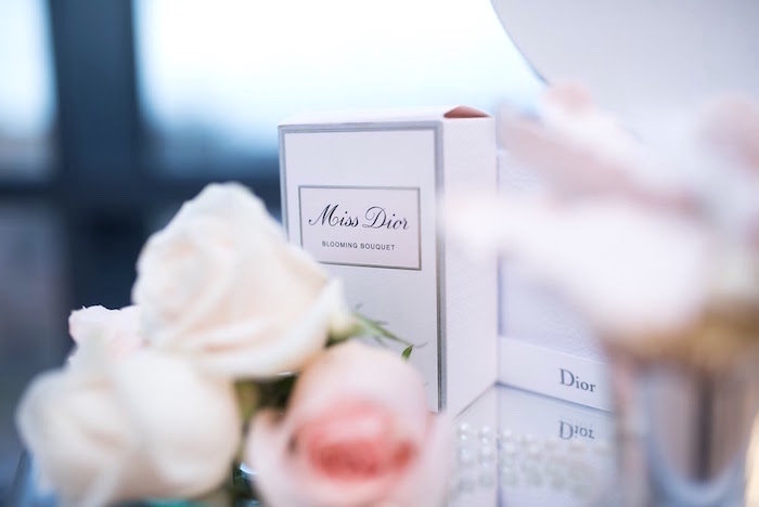Miss Dior perfume box from an Elegant Dior Inspired Birthday Party on Kara's Party Ideas | KarasPartyIdeas.com (9)