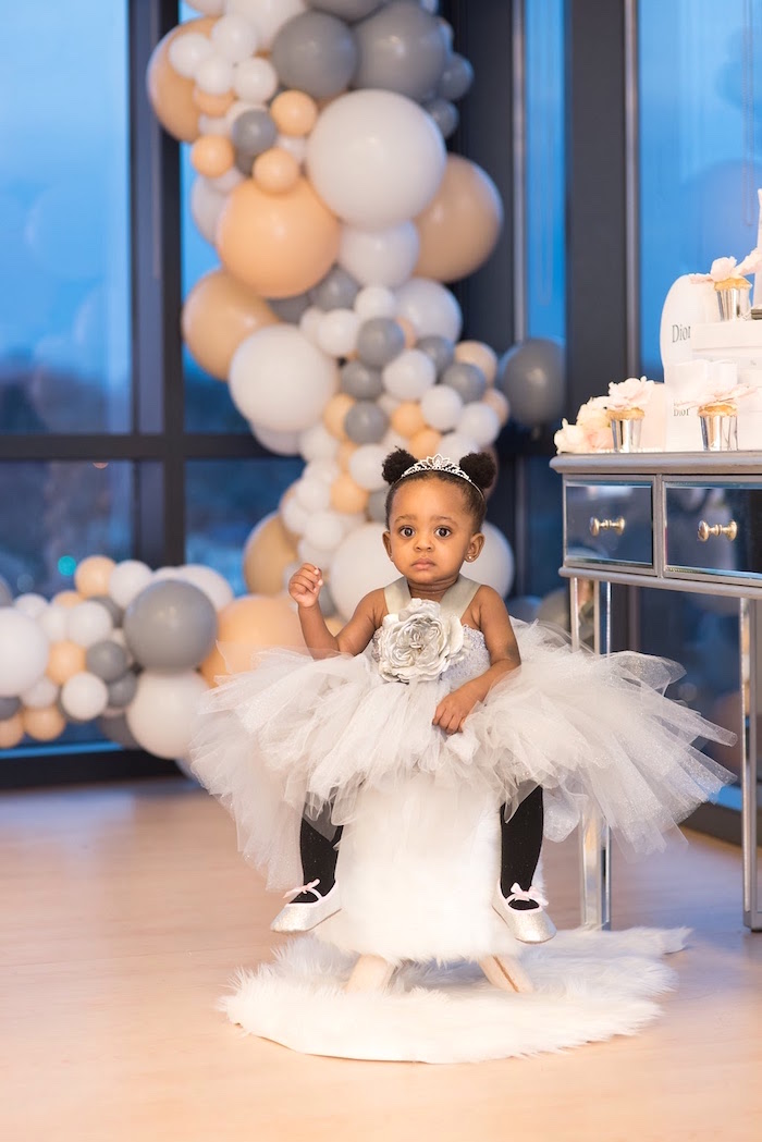 Elegant Dior Inspired Birthday Party on Kara's Party Ideas | KarasPartyIdeas.com (8)