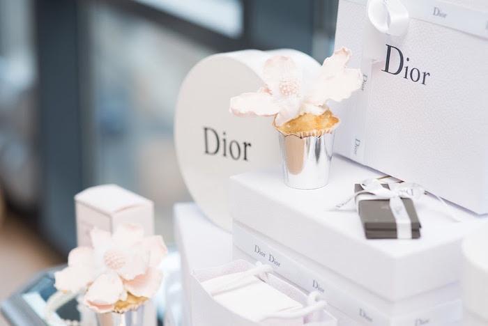 Elegant Dior Inspired Birthday Party on Kara's Party Ideas | KarasPartyIdeas.com (39)