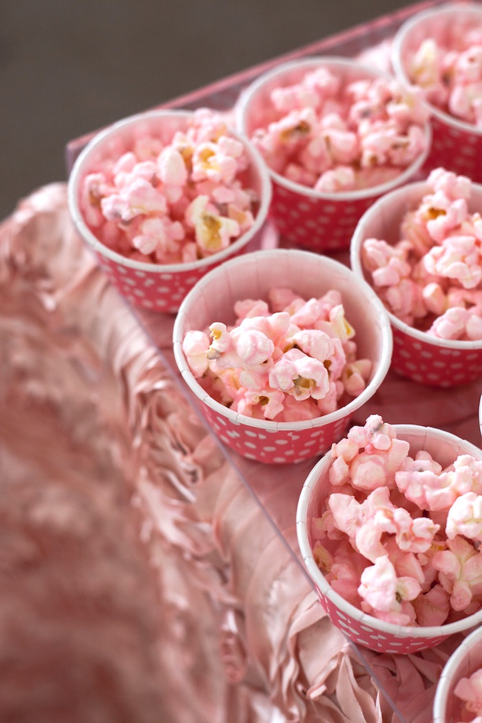 Popcorn cups from an Elegant Parisian First Birthday Garden Party on Kara's Party Ideas | KarasPartyIdeas.com (31)