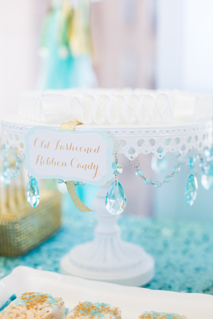 Old Fashioned Ribbon Candy from an Elegant Tiffany's Inspired Birthday Party on Kara's Party Ideas | KarasPartyIdeas.com (30)