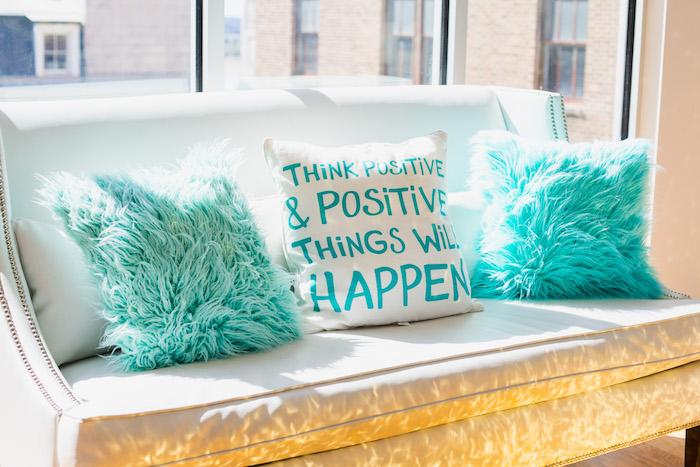 Custom pillows from an Elegant Tiffany's Inspired Birthday Party on Kara's Party Ideas | KarasPartyIdeas.com (9)